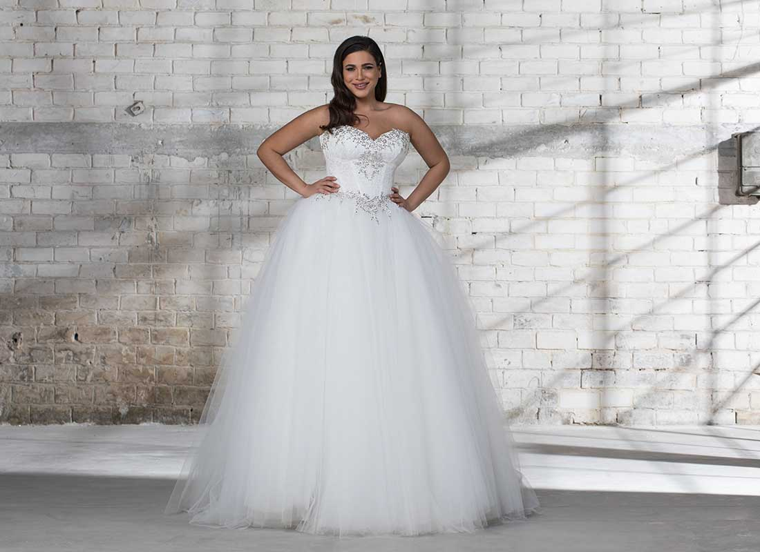 Wedding Dress Plus Size.Pnina Tornai