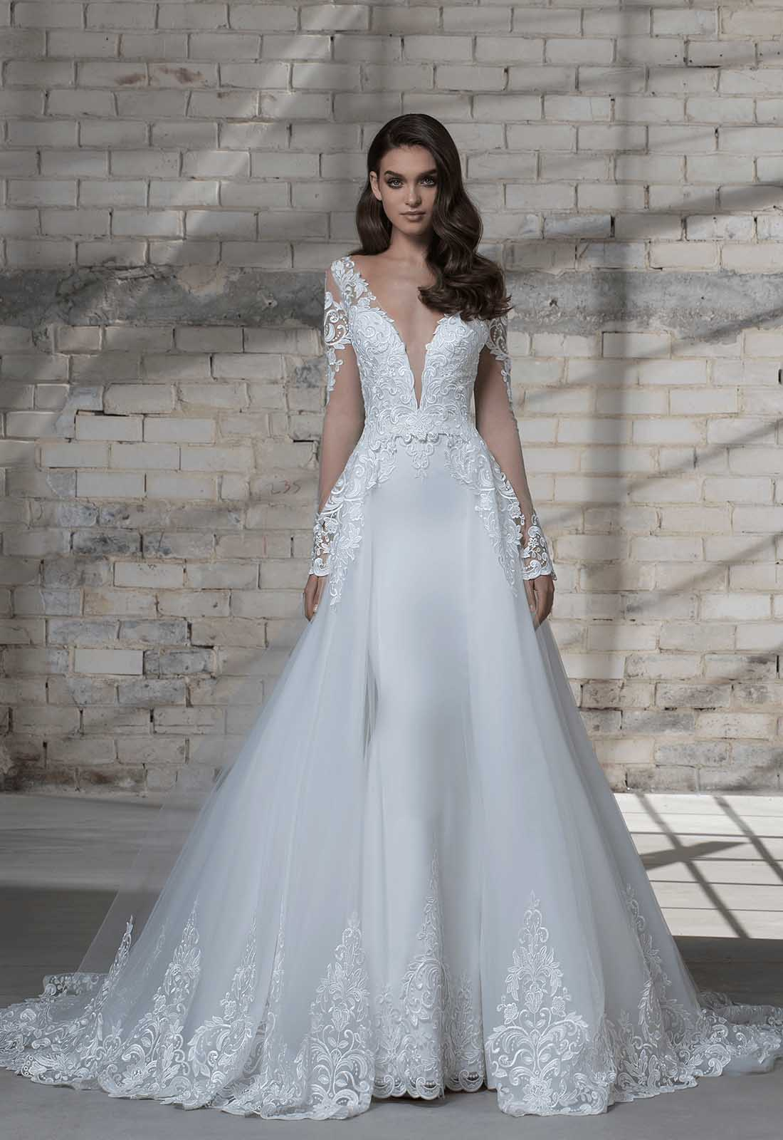2ac172afe58 ... understanding of what looks good on smaller frames and therefore knows  how to design gowns that are still full of bridal wonder without making a  bride ...